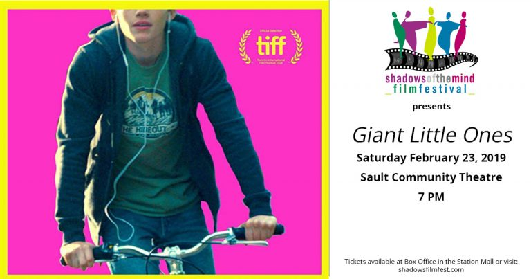 Nominated for People's Choice Award and Voted TIFF's top 10 Canadian Feature. Flimed in the Sault, Screened in the Sault.