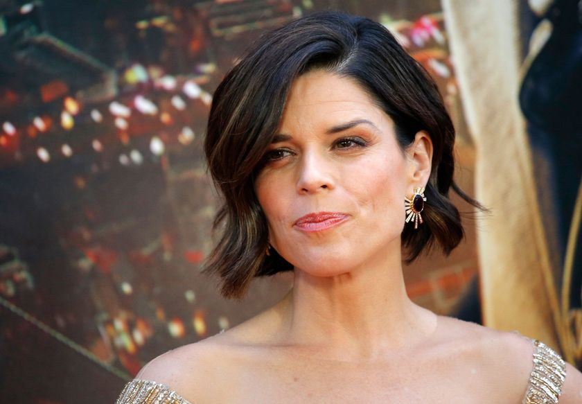 Neve Campbell stars in Castle on the Ground, a Canadian film about opioid addiction. KENA BETANCURKENA BETANCUR/AFP/Getty Images
